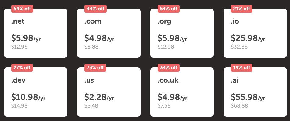 Namecheap Black Friday Cyber Monday Deals 2020 [Get Upto 99% Discounts]